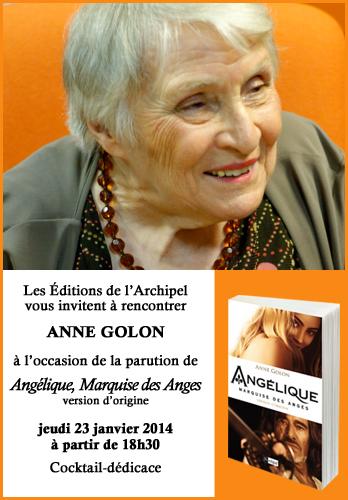 Invitation Anne Golon